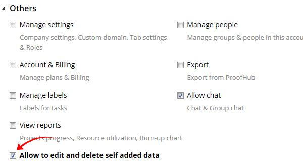 self added data